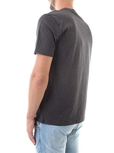 T Uomo Grigio Calvin K10k103078 Klein shirt AfREOK