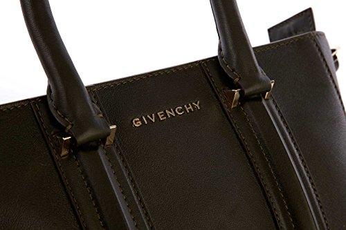 Givenchy borsa donna a mano shopping in pelle nuova lucrezia verde