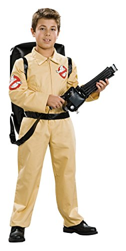 Deluxe Ghostbusters Costume - Medium (Ghostbusters Kids Proton Pack)