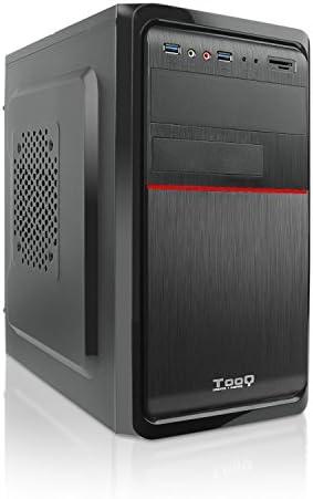Tooq TQC-4745DU3C-B Caja de Ordenador (Microatx ,Con Fuente de 500 W, 2Xusb 3.0, Lector de Tarjetas Frontal), Negro: Tooq: Amazon.es: Informática