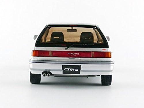 HONDA CIVIC EF3 Si 1987 gris métallisé 1//18