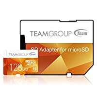 Team Group 128GB Micro SDXC 128GB Flash Card with Adapter Deals