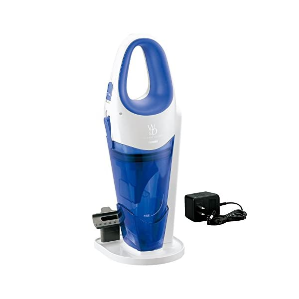 TWINBIRD cordless wet and dry cleaner Blue HC-E221BL