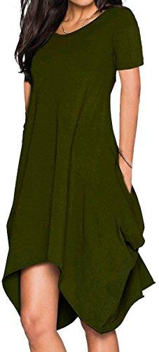 Wearlove Women Asymmetrical Sleeve Pockets product image