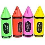 Crayon Piggy Banks (12 Pack)