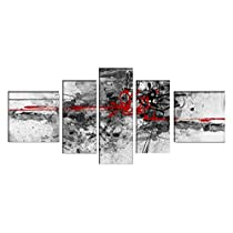 DekoArte - Cuadro moderno abstracto 169 180x85cm