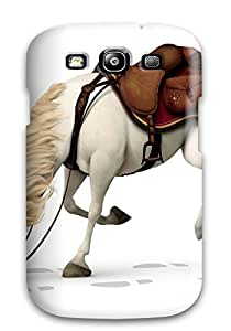 AieVVHr14266JPiAv Case Cover, Fashionable Galaxy S3 Case - Horse From Tangled