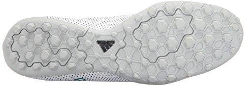 Adidas Man X Tango 17,3 Turf Fotboll Sko Vit / Energi Blå / Svart