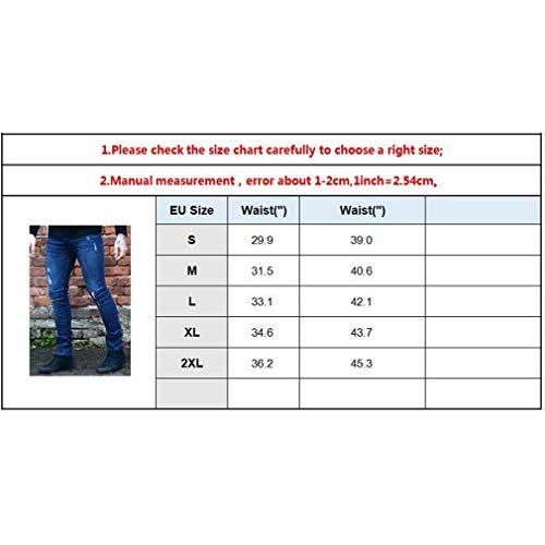 Per Heavy Asiatica Stretch Especial Jeans Slim Moda Duty Pantaloni Nero Gamba Skinny Fit Estilo Dritta Uomo Pantalone XIwZw