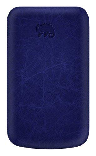KATINKAS® Premium Custodia in pelle per Samsung Nexus s creased - Blue