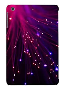 Catenaryoi Ultra Slim Fit Hard Case Cover Specially Made For Ipad Mini/mini 2- Optical Fiber Lamp