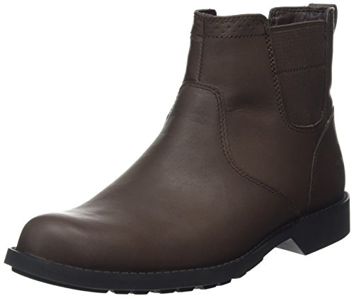 Timberland Fitchburg Waterproof Chelsea, Botines para Hombre Negro (Bouy Riptide Galloper Full GrainBouy Riptide Galloper Full Grain)