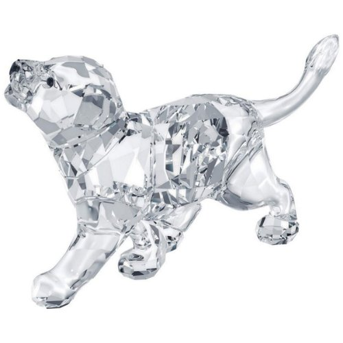 Swarovski Lion Cub Figurine - Crystal Swarovski Animal