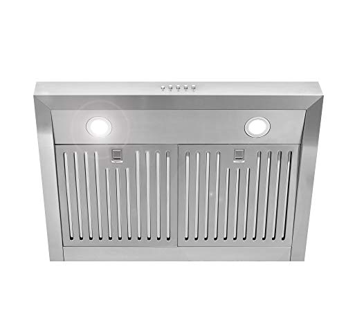 Cosmo Uc30 30 In Under Cabinet Range Hood 760 Cfm With