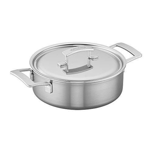 Demeyere Industry 5-Ply 4-qt Stainless Steel Deep Saute Pan ()
