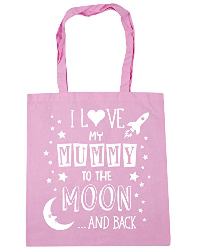 10 Love Pink litres HippoWarehouse to Gym Pink Classic Shopping the I and Beach Tote Moon Mummy Back My 42cm Bag x38cm 5xxUTRq
