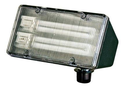 Dabmar Lighting DF5850-G Lexan Flood Light, 26W 2-PL13 120V, Green (Lexan Diffuser)
