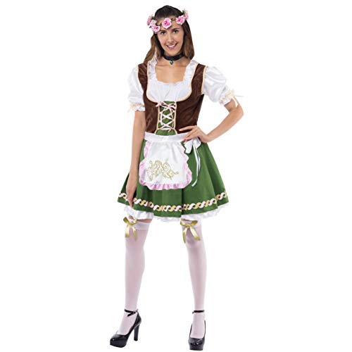 Spooktacular Creations Women's German Oktoberfest Costume Set