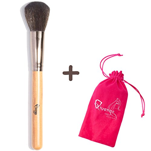 d7ed1c0635a1 Qivange Powder Brush, Synthetic Face Brush Foundation Blush - Import It All