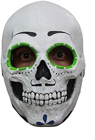 Creative Collection - Máscara de Calavera de azúcar para Hombre ...