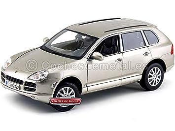 PORSCHE Cayenne 3.2 V6 Turbo Metallic Gold (MA31675G). Cochesdemetal.es: Amazon.es: Juguetes y juegos