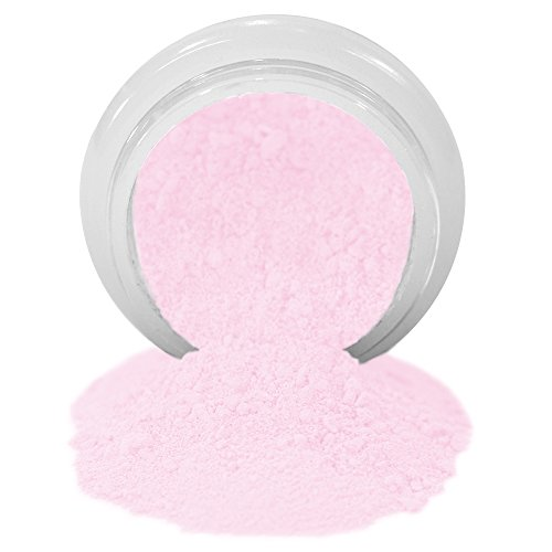 (ColorPops by First Impressions Molds Matte Pink 6 Edible Powder Food Color For Cake Decorating, Baking, and Gumpaste Flowers 10 gr/vol single jar)