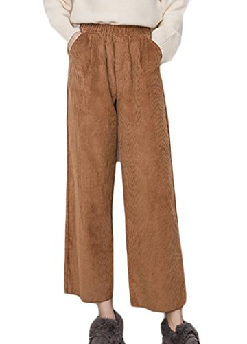 Corduroy Skinny Leg Pants - 5