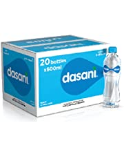 Dasani 600 Ml, 20 Bottle