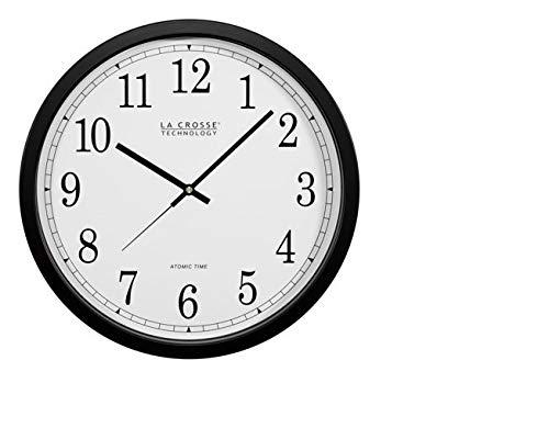 La Crosse Technology WT-3143A-INT 14-Inch Atomic Wall Clock,