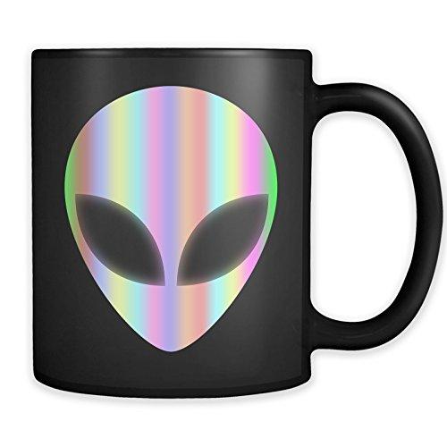 Alien Head Area 51 Mug - Extraterrestrial UFO Coffee Cup