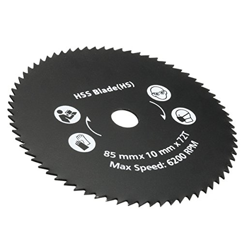 85mm 72 Circular Saw Blade Metal Cutting Circular Saw Blade Teeth HSS Circular Saw Blade Rotary Cutting Discs Wheel For Rotary Tools