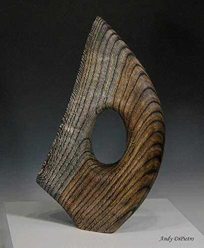 Wood Sculpture Art - Riding the Wind