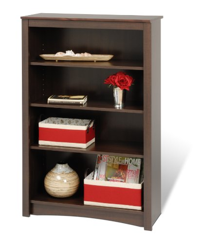 Prepac Espresso 4-shelf Bookcase by Prepac