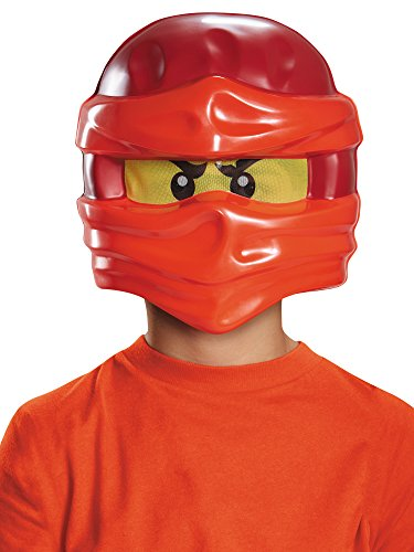 Kai Ninjago Lego Mask, One Size Child]()