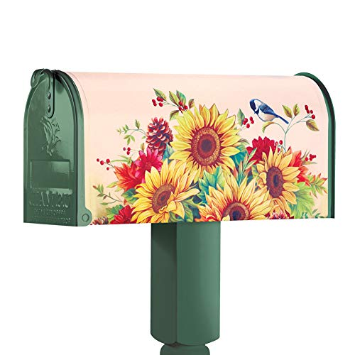 Collections Etc. Seasonal Mailbox Covers for Spring, Summer, Fall and Winter, Set of 4 (Spring Cover Mailbox)