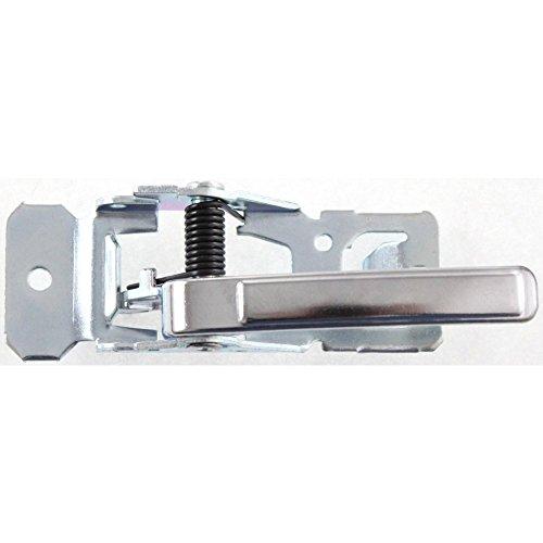Evan-Fischer EVA18772019224 New Direct Fit Interior Door Handle for CUTLASS CIERA 82-96 FRONT OR REAR LH Inside w/ Chrome Lever w/o Case Replaces Partslink# GM1352110 (1992 Oldsmobile Cutlass Ciera)