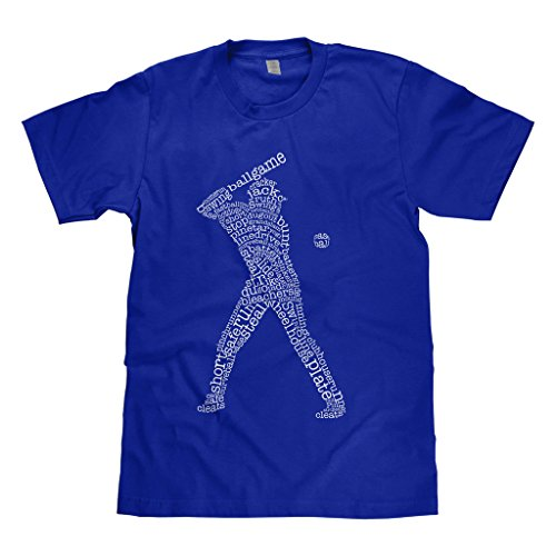 (Mixtbrand Big Boys' Baseball Player Typography Youth T-Shirt XL)