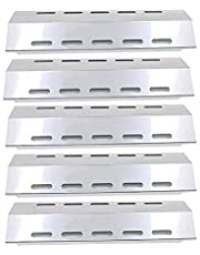 Bar.b.q.s 30500701/30500097 (5-pack) Stainless steel Heat Plate, Heat Tent,Replacement for Select Ducane 5 Burner, FirePlus, Fire Mountain, Char-Broil, CosmoGrill, Campingaz and Other Model Grills (428.6 x 130.2mm)