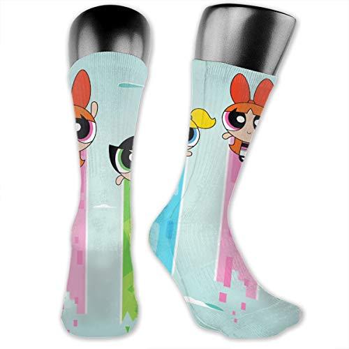 JINUNNU Cool The Powerpuff Girls Compression Socks Soccer Socks High Socks Long Socks Sports Outdoor for Men Women]()