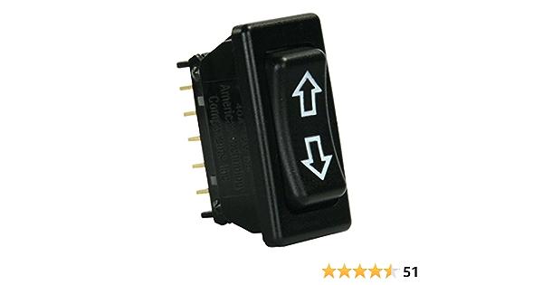 Diamond Group 1715B Black 5-Pin in-Line Terminal Switch
