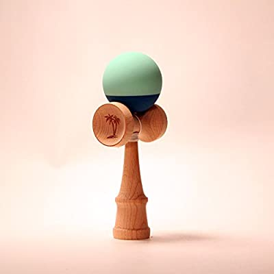 Bahama Kendama Two Tone (Green/Aqua): Toys & Games