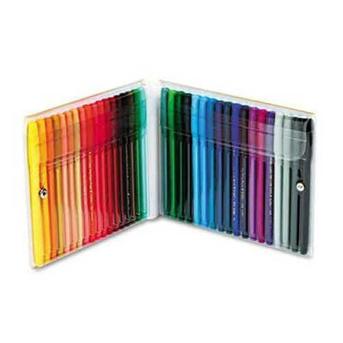 Pentel Fine Point Color Pen Set, 36 Assorted Colors, 36/Set Pentel Color Pen Set