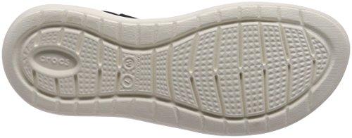 Zeppa white Tacco Con Sandali Literide Navy Womens Crocs X0qwURR