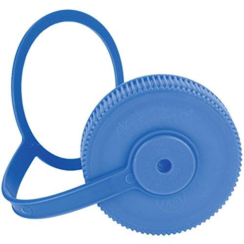 Nalgene Blue Wide Mouth Loop Top Lid Bottle ()