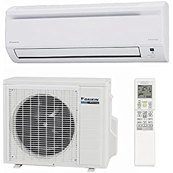 daikin 18 000 btu 20 3 seer single zone ductless mini split heat pump system ac and. Black Bedroom Furniture Sets. Home Design Ideas
