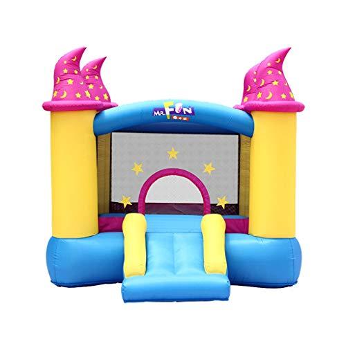 Castillos Inflables Juguetes para Niños para Niños Cama Elástica Exterior Casa De Juego En Casa Diapositivas para Niños...