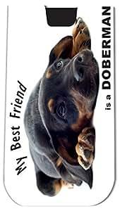 Rikki KnightTM My Best Friend is a Doberman Pinscher Dog - Smart Phone Neoprene Protective Pouch for iPhone 4/4s/5/5s/5c, Motorola Moto X, Galaxy S3/S4/Note 3/Ace 2, LG Optimus Gpro/G2/L3/4X HD, Sony Xperia Z1S/U, HTC Droid/One/One X/Pro/mini, Blackberry G