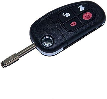 Jaguar Schlüsselgehäuse 5 Tasten Mit Rohling Auto