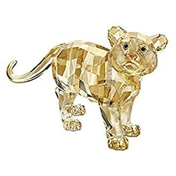 (Swarovski Crystal Tiger Cub Standing Figurine Retired)