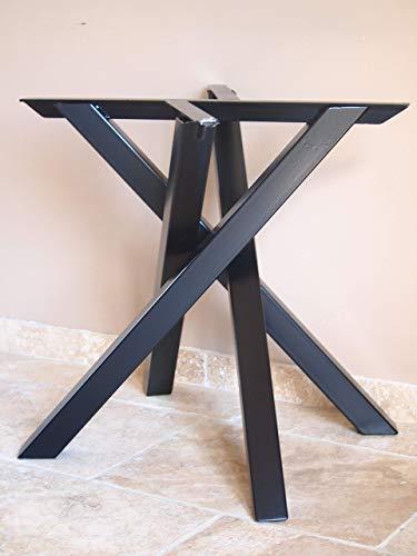Pieds De Table En Metal.Pied De Table Mikado En Metal Style Industriel Moderne
